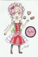 Chibi Strawberry doodle by Luky2912