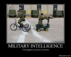 Military Intelligence by RedSunglasses