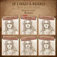 Beard Meme: Sywyn by SerenaVerdeArt