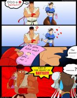 Ryu x Chun-Li, Heart Of Battle by DMGoodrum