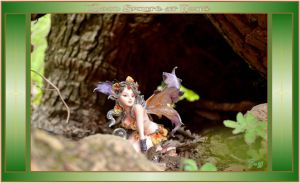 A Wood Sprite in Her Home! by Taures-15