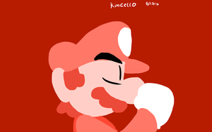 Red Mario by Kincello