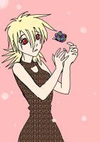 Seras Victoria and a Butterfly by tomaattikastike