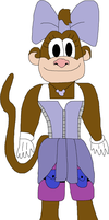 Marcella Monkey by jacobyel