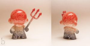 Jawbreaker Mini Munny by bethanydesigns