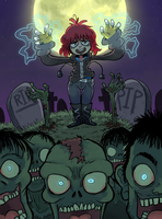 zombie uprising by nikkinack