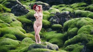 Natasha Felix: Red and green should never be seen by JeremyHowitt