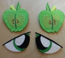 Big Macintosh Plishie Patches by EthePony