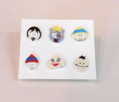 South Park earrings by JuniperJewelry