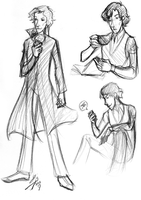 Sherlock Sketch dump February Pt 2 by GinnyMilling