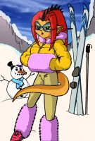 Endorella on a winter holiday by ChaosAlexander