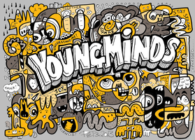 Young Minds Charity Doodle by monkeys-in-my-head