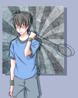 I came up with a character who plays badminton by AkiraYoshida3