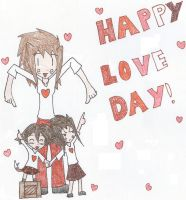 Happy Love Day by Teddie-Chan