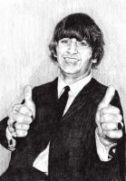 Ringo Starr by BonaScottina