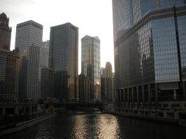 Chicago River by musicalobsession