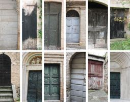 Old Doors Pack 2 by morana-stock