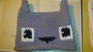 My first Totoro hat by Avelios
