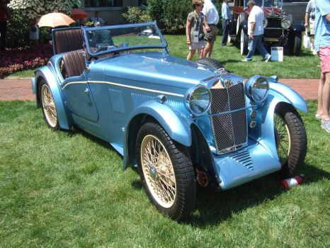1932 MG Magna Stiles Special Threesome by Aya-Wavedancer