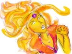 Adventure Time: Flame Princess by AfricanAmericanAnime