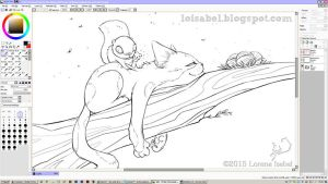 relax time - WIP - by Loisa