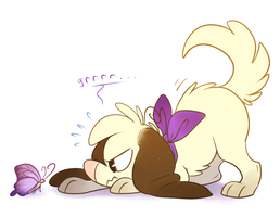 One Tough Pup by ninibleh