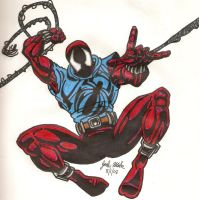 The Scarlet Spider by Shigdioxin