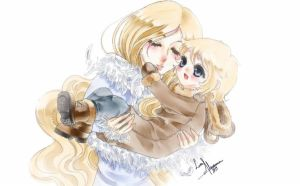 Mother and Child by Luna-Akari