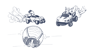 Rocket league doodle by crazyrems