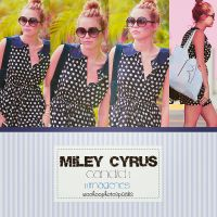 Candid Miley Cyrus 1 by WooHoophotospacks