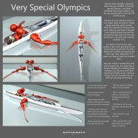 Very Special Olympics, watersports part II by netishist