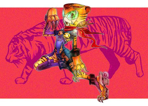 Tiger girl. by paet