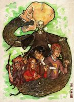 The Golden Trio by Looche