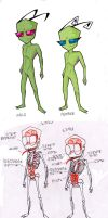 Irken Anatomy by WindWo1f