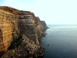 Western Cliffs of Lampedusa by floramelitensis