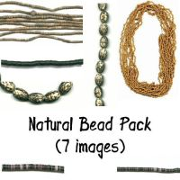 Natural Bead Pack by Sage-Dreamer