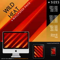 Wild Heat Wallpaper Pack by GamerWorld14