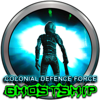 Colonial Defence Force Ghostship by POOTERMAN