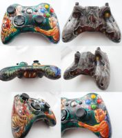Evil Dead Xbox Controller by Joel-Wade