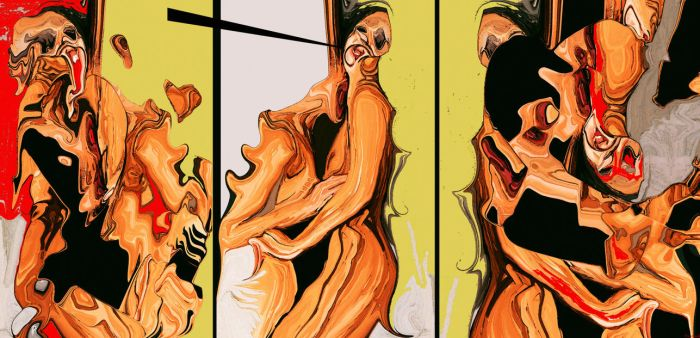 New love triptych by moppaa