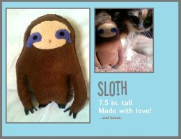 Simplified Sloth by Ashwahhh