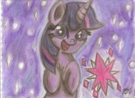 Magic Funtime with Twilight Sparkle by OstiChristian