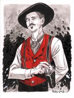 Doc Holliday by TessFowler