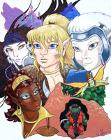 Celebrating Elfquest: 30 Years by WolfenM