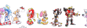 Sonic Easter by sowia