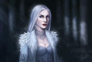 Ice Lady by thalia-art
