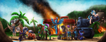 Boom Beach MLP Task Force by TheOmegaRidley