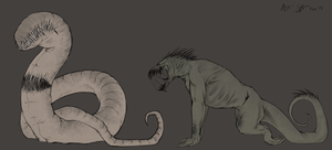 Desolation: More enemy designs by xXNuclearXx