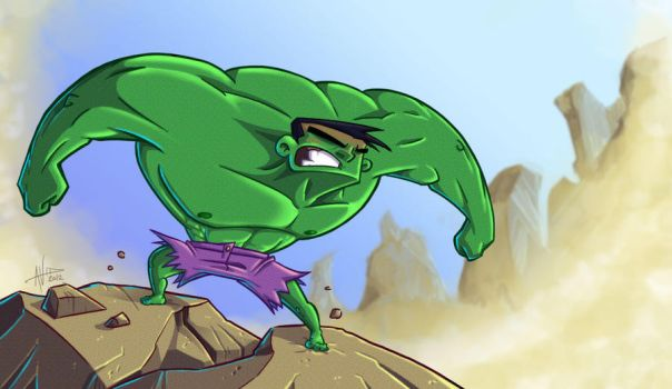 What is green, angry and in the desert? by Avid-The-Gob