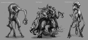 Creature design project 3 by mobius-9
